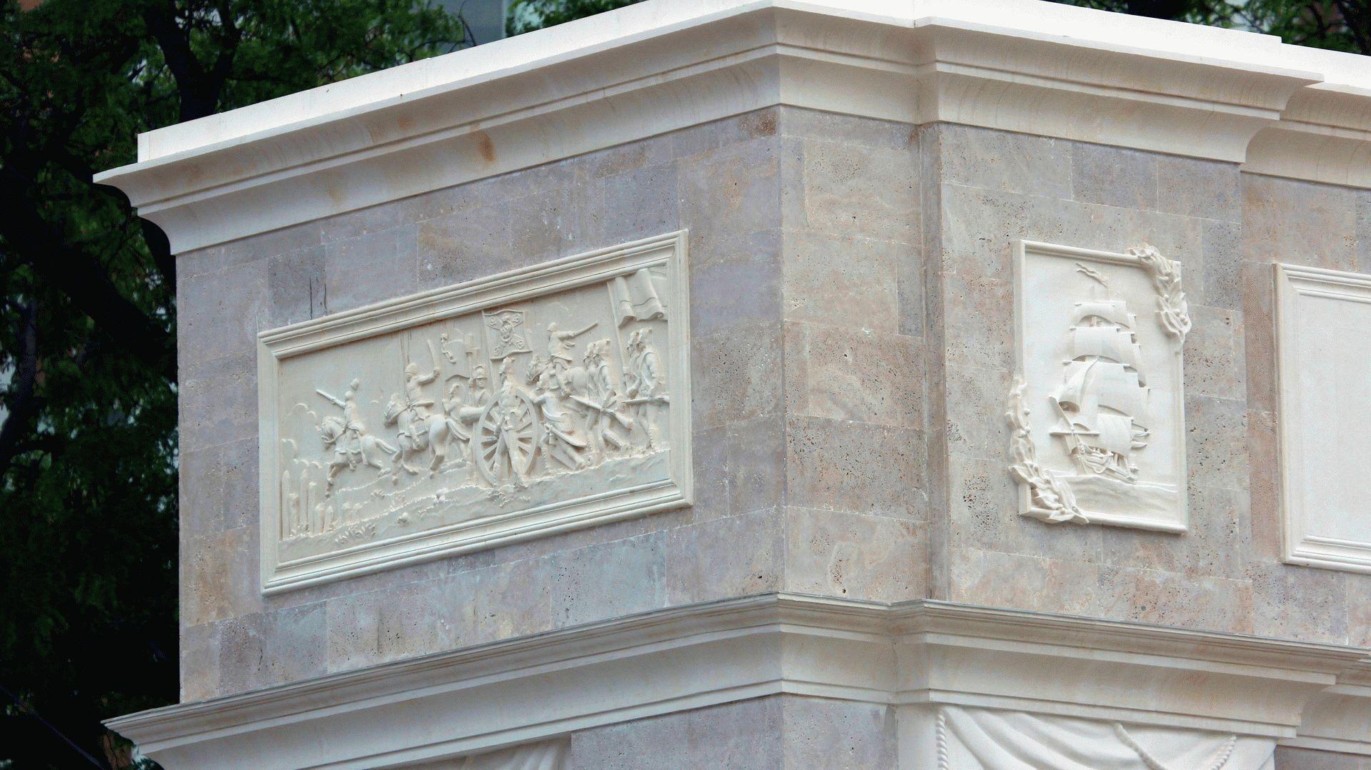 Оформление арки в Анапе