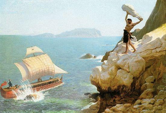 Одиссей у берегов Анапы