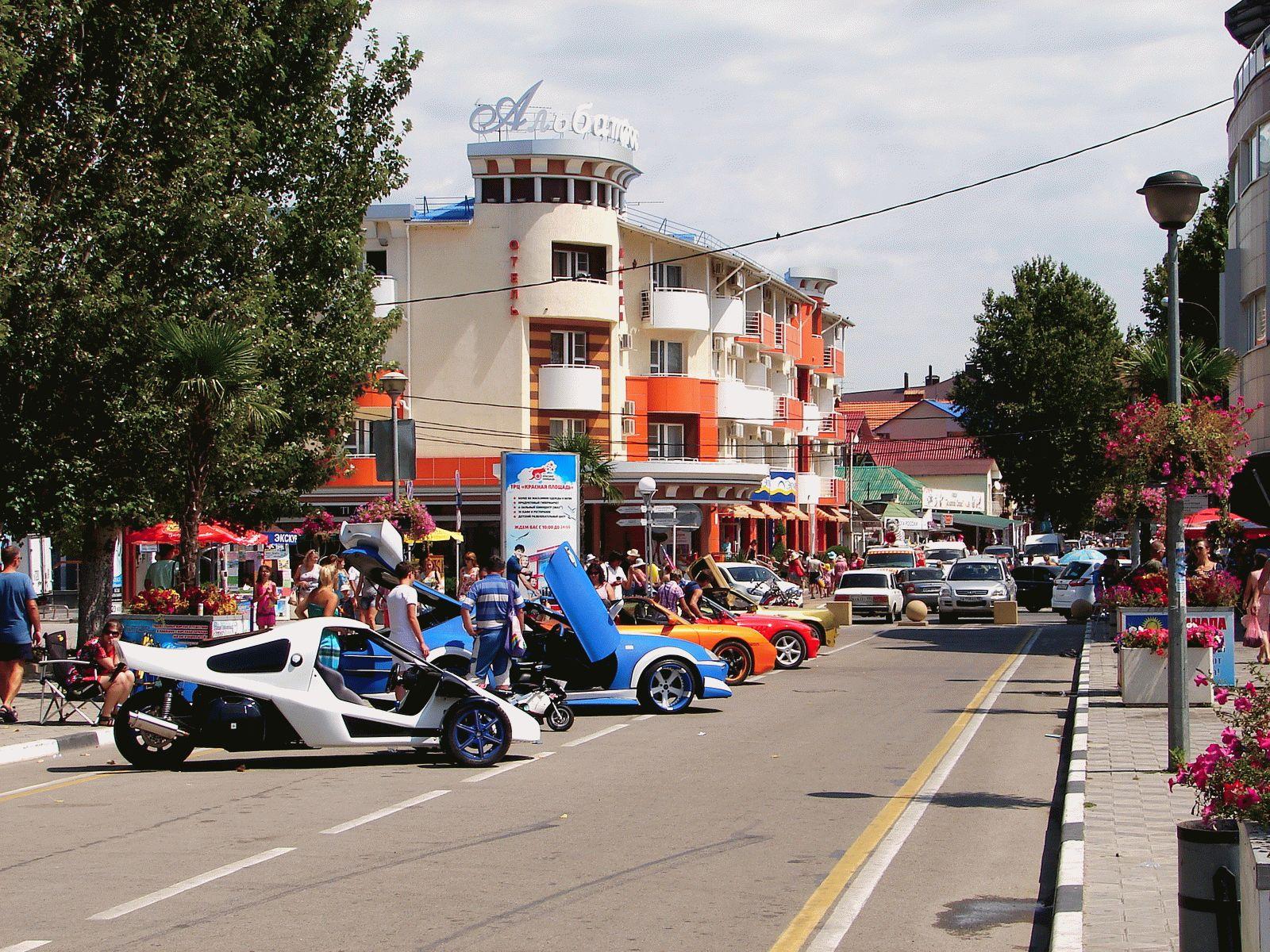 Улица Горького на фото