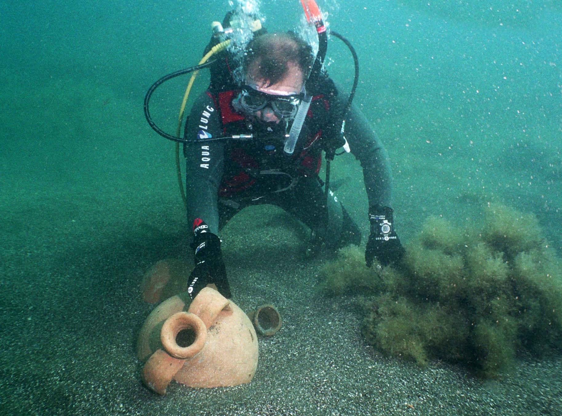 Дайвинг в Анапе - затонувшие объекты