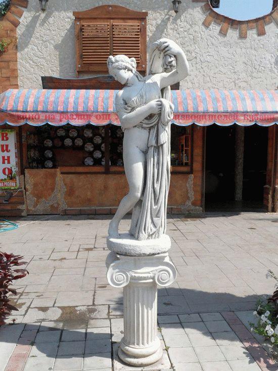 Греческий колорит курортного Витязево