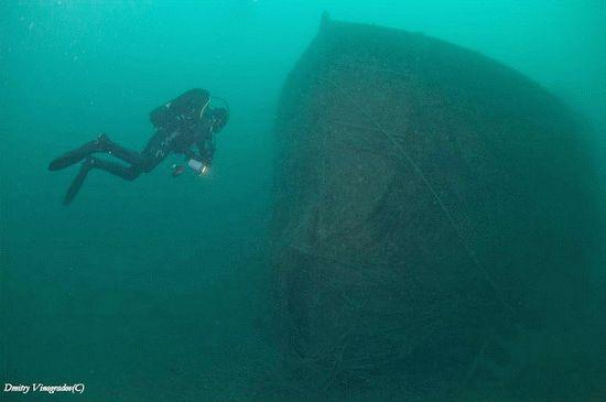 Wreck дайвинг на Черном море