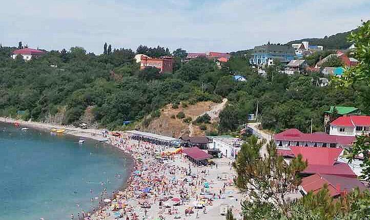 Пляж хутора Бетта
