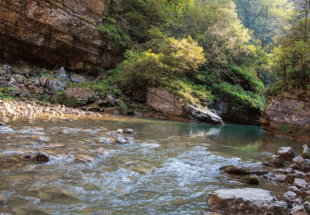 Красивая природа хутора Гуамка