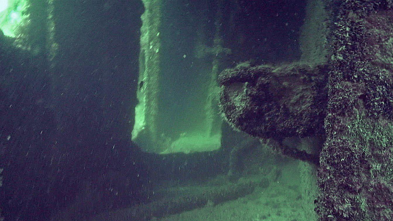 Затонувший корабль Одесский горсовет