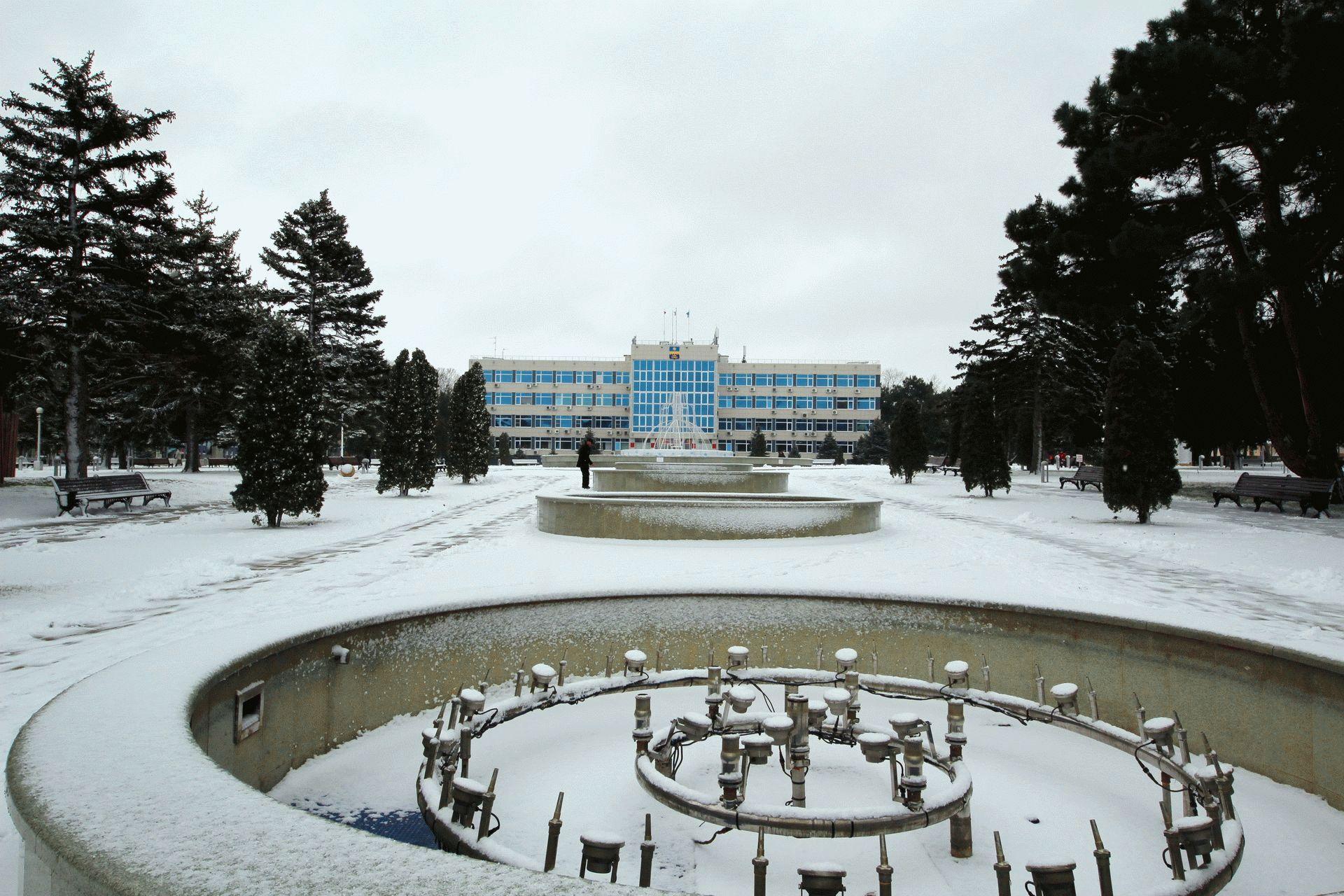 Мороз в Анапе