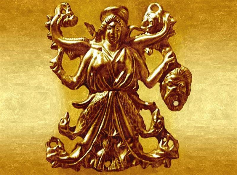 Боги скифов — Религия скифских племен