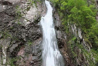 33 метровый водопад в Туапсе