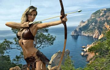 Амазонки в Крыму