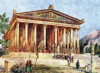 Архитектура и скульптура древних греков