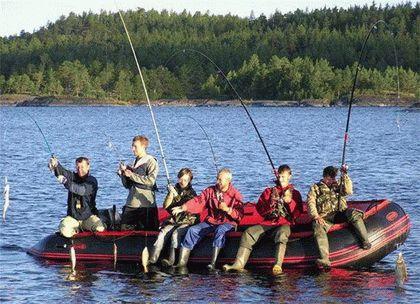 Бюджетная групповая рыбалка
