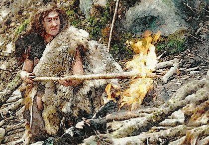 Добывание огня в древности