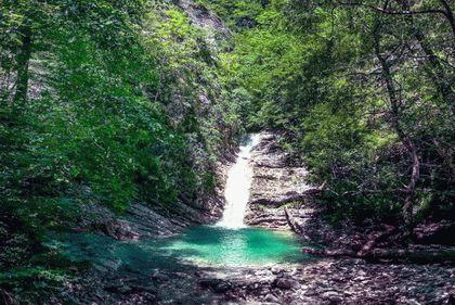 Голубые водопады в Туапсе