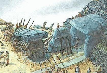 Как строили древние дольмены