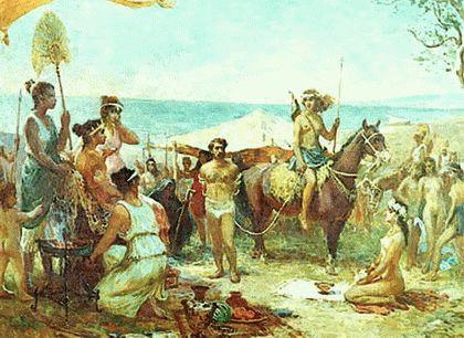 Мифы об амазонках