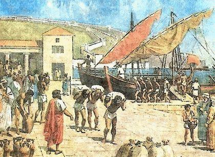 Начало древнегреческой колонизации