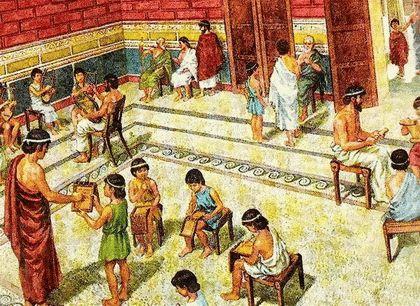 Школа и театр у древних греков