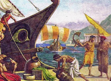 Торговля в колониях