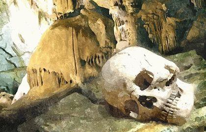 Тысячеголовая пещера на горе Чатыр-Даг