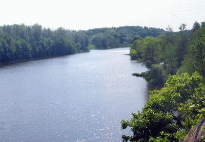 Устье реки Салгир