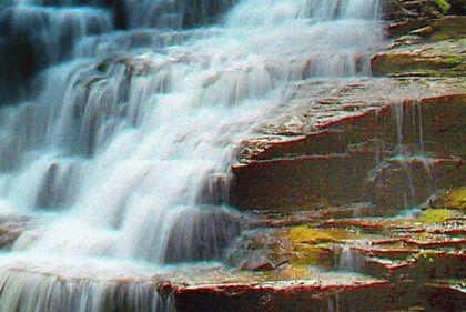 Родник Дружбы и водопад Мудрости