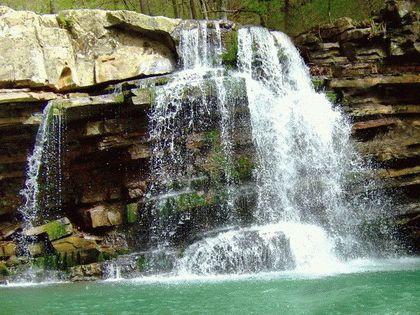 Водопады Пшада