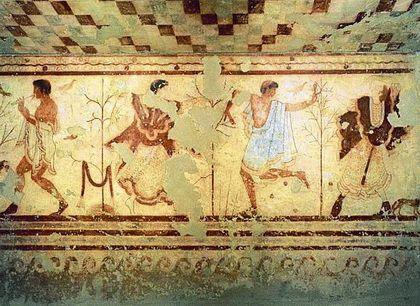 Живопись древних греков