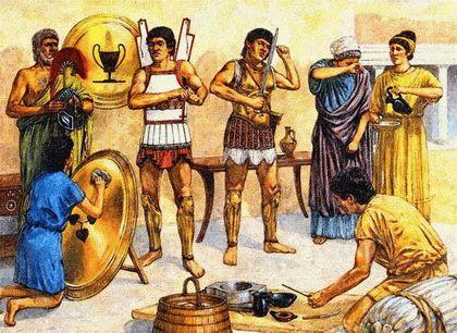 Жизнь древних греков