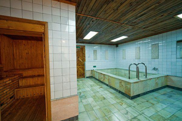 Сауна в санатории Мечта в Анапе
