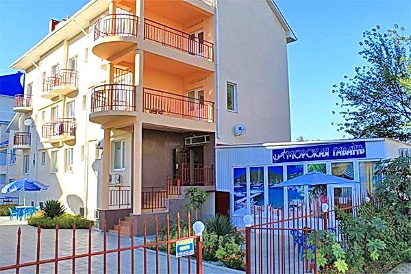 Отель Черноморочка в Анапе
