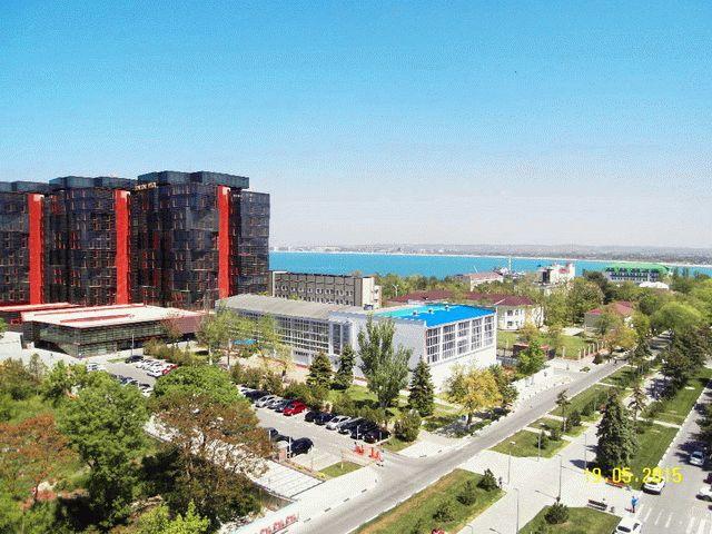 Вид с Апарт-Отеля в Анапе