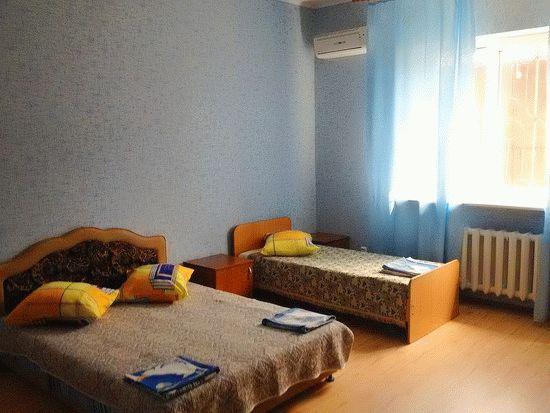 Гостиница Морская в Голубицкой