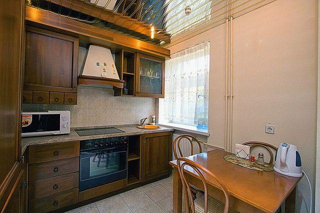 Кухня в номере санатория Черноморская зорька