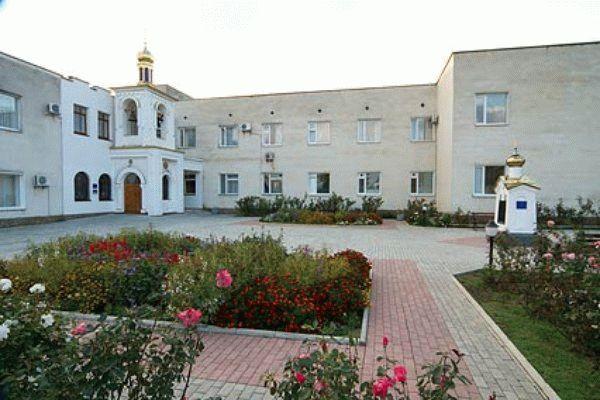 Территория санатория им. Пирогова