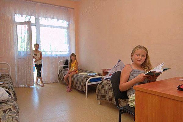 Лагерь Энергетик в Анапе