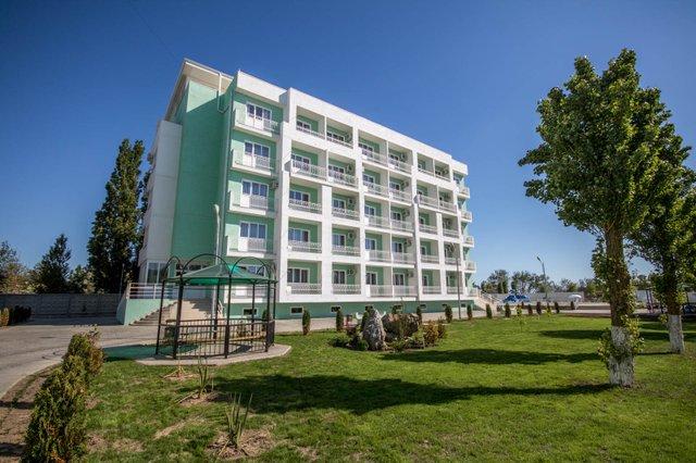 Парк-отель Лазурный берег в Анапа (Джемете)