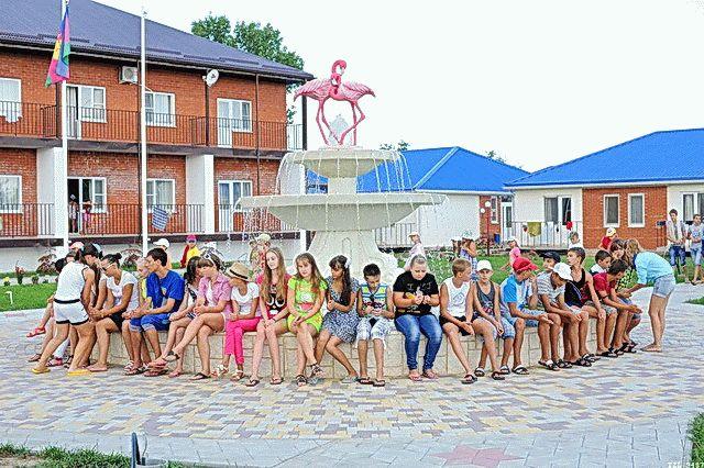 Детский лагерь на Азовском море
