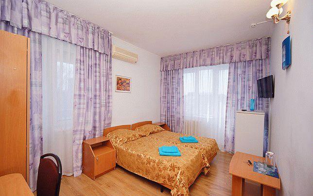 1-комнатный 2-местный (раздвижные кровати)