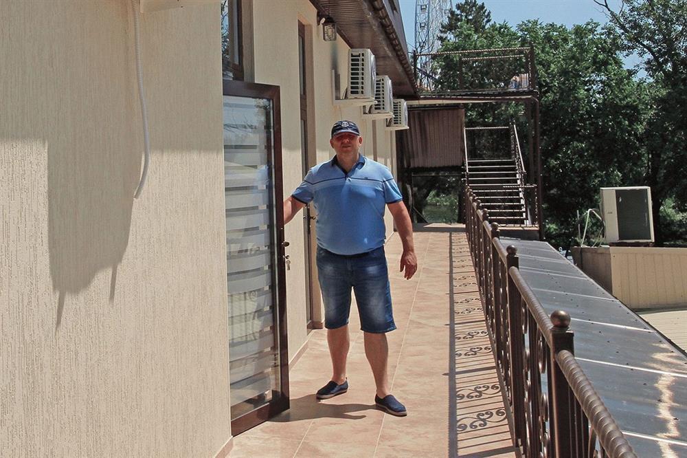 Отель «Родина» в Анапе