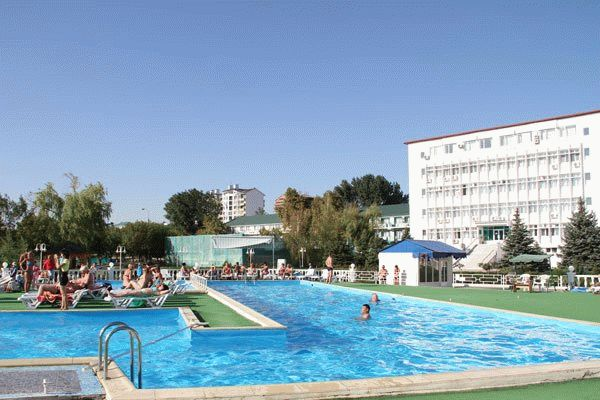Санаторий «Парус» на курорте Анапа