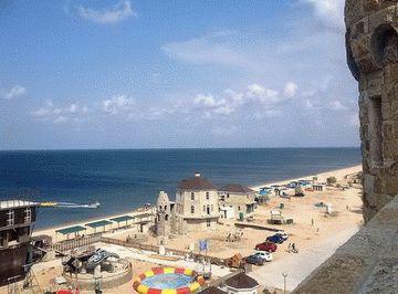 База отдыха Золотой Пляж в Пересыпи