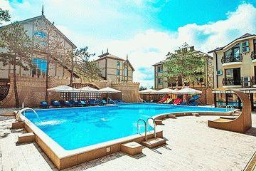 Отель «Довиль» в Анапе — Все включено!