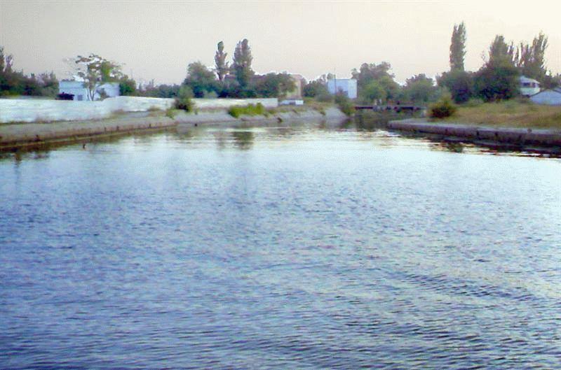 Река Байбуга в Крыму